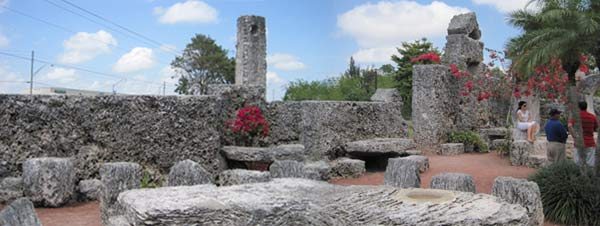 Coral Castle dowsing workshop